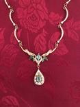 Золотое колье с бриллиантами, фото №6