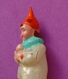 """""""Орлекин с трубочкой"""" Елочная игрушка., фото №3"""