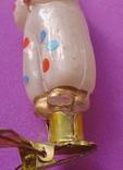 """""""Орлекин с трубочкой"""" Елочная игрушка., фото №9"""