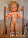 Кукла ES 60 см. колкий пластик Германия., фото №2