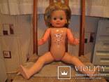 Кукла ES 60 см. колкий пластик Германия., фото №6