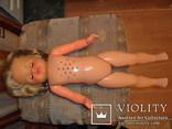 Кукла ES 60 см. колкий пластик Германия., фото №8