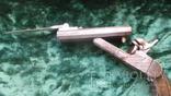 Двухствольный шпилечный пистолет со штыком, фото №3