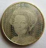 """Нидерланды 5 серебряных евро """"400-летие дня рождения Рембранда"""" KM# 266, фото №2"""