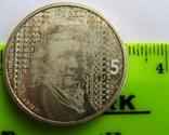 """Нидерланды 5 серебряных евро """"400-летие дня рождения Рембранда"""" KM# 266, фото №4"""