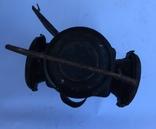 Фонарь железнодорожный лампа большая старинная массивная, фото №7