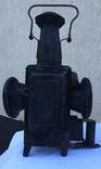 Фонарь железнодорожный лампа большая старинная массивная, фото №12