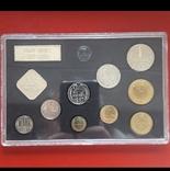 Годовой набор 1987 г. 15 к. шт. 1 №161 по АИФ 10 к. шт.2.1. №166 по АИФ