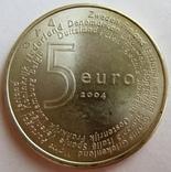 """Нидерланды, 5 серебряных евро """"Расширение ЕС"""" 2004 г., фото №3"""