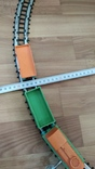 Детская ЖД диам. 80см. заводная с ключом, фото №4