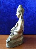 Будда Шакьямуни. Бронза. ХVIII-ХIХ век. фото 2