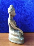 Будда Шакьямуни. Бронза. ХVIII-ХIХ век. фото 4