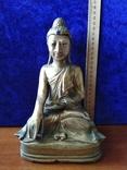Будда Шакьямуни. Бронза. ХVIII-ХIХ век. фото 7