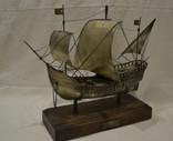 Корабль (Pinta) 19-й век. 700гр., фото №4