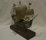 Корабль (Pinta) 19-й век. 700гр., фото №5