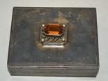 Сигаретница, шкатулка 19-век, фото №2