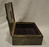Сигаретница, шкатулка 19-век, фото №9