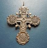 Серебряный крест № 1, фото №4