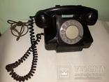 Телефон СССР карболитовый 1956 года, фото №2