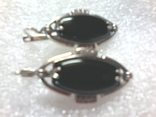Набор 925 серьги ,кольцо р.16.5, фото №6