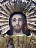 Икона Спаситель в окладе, фото №3