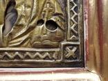 Икона Спаситель в окладе, фото №7
