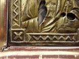 Икона Спаситель в окладе, фото №8