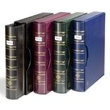 Альбом Leuchtturm,Optima(до 60 листов) с футляром и окошком,синий. 321054