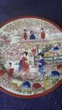 Старинная фарфоровая тарелка Япония, фото №3