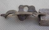 Часть соколиноголовой фибулы, фото №5
