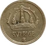 Швеция 10 эре 1949-серебро,С21, фото №3