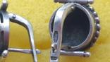 Кольцо+серьги,925°Серебро., фото №11