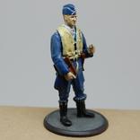 Немецкий Африканский корпус. Летчик. олово, раскрас, фото №2