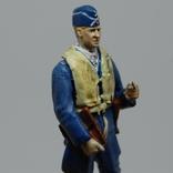 Немецкий Африканский корпус. Летчик. олово, раскрас, фото №3