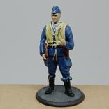 Немецкий Африканский корпус. Летчик. олово, раскрас, фото №4