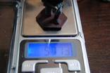 Немецкий солдат на колене с автоматом. Период ВОВ. Олово, раскрас, фото №13