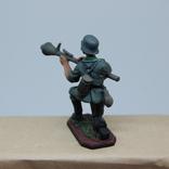 Немецкий солдат. Период ВОВ. Олово, раскрас, фото №7