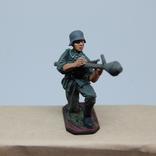 Немецкий солдат. Период ВОВ. Олово, раскрас, фото №10