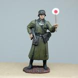 Немецкий солдат. Период ВОВ. Олово, раскрас, фото №2