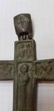 Энколпион 14-15в. (Распятие Христово с Предстоящими - Богородица Агиосоритисса), фото №7