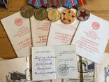 Награды на подполковника БКЗ КЗ ЗБЗ выслуга Варшава с документами благодарности Сталина, фото №5