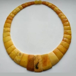 Кольє з натурального королівського янтаря, фото №2