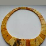 Кольє з натурального королівського янтаря, фото №10
