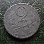 2 эре 1943  Дания    ($6.2.31)~, фото №2