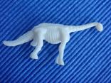 Фигурки динозавры, желтый резиновый INPRO 1972 год, фото №10