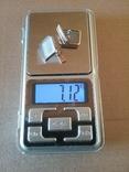 Запонки серебро ☆875 позолота  ,клеймо 1ЛЮ, фото №7