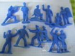 Солдатики полиция 24 шт., фото №7