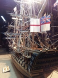 HMS Виктория 1:98 (старая школа сборки), фото №4