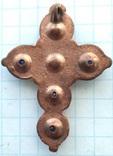 Крест с синими камнями 18-19 век (9_114), фото №3