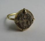 Перстень с изображением Святого Воина. фото 1
